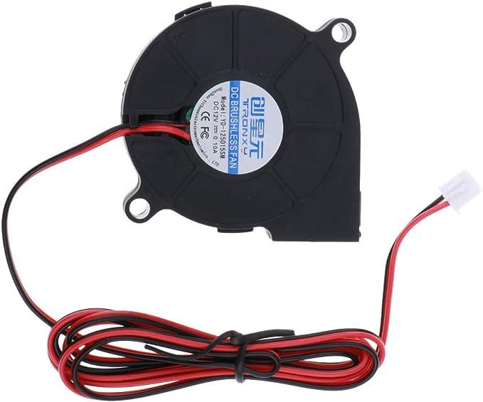 Sharplace 2pcs 2pin 12v 4020 Ventilateur de Refroidissement