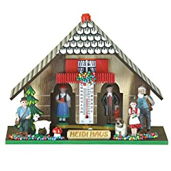 Trenkle German Black Forest Weather House Heidi TU 830