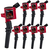 BIG AUTOPARTS Pack of 8 Ignition Coil High Performance...