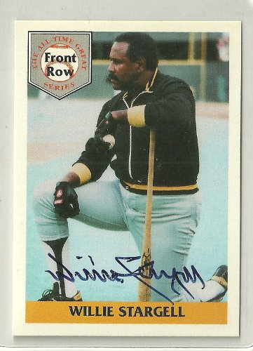 (1992 Front Row All Time Greats Baseball Willie Stargell Autograph #397/5000)