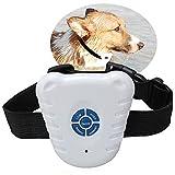 Dog Ultrasonic Barking Control Training Collar, LIYUDL Anti Bark Reflective Collar for Small Medium Large Dogs