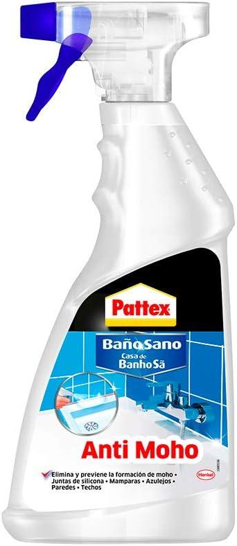 Pattex Limpia anti-moho pantex baño sano, 500ml.: Amazon.es: Salud y cuidado personal