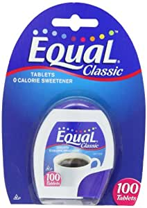 Equal Tablets, 100-Count (Pack of 6)