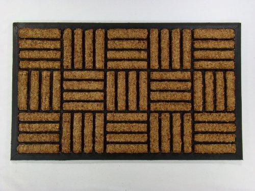 kempf-inlaid-rectangle-criss-cross-coco-coir-mat-18-inch-x-30-inch