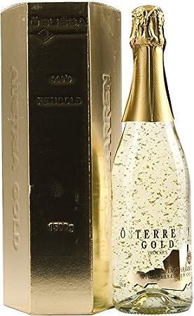 Vino espumoso que incorpora 23 quilates de oro dentro de la botella,La tradición de incorporar oro e