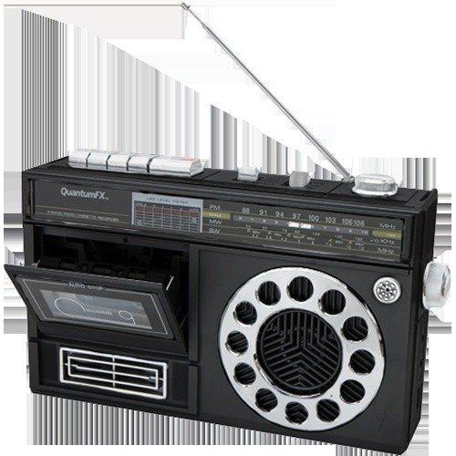 QFX J13BK Portable Durable Speaker