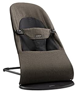 BABYBJORN Bouncer Balance Soft - Black/Brown, Organic Cotton