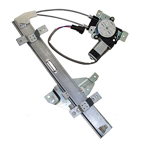 Drivers Rear Power Window Lift Regulator with Motor Assembly Replacement for Pontiac 10321732