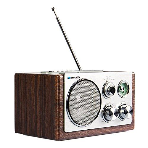 BLAUPUNKT RXN 19 Retro Design Radio (UKW/MW-Tuner, 3 Watt, USB 2.0)
