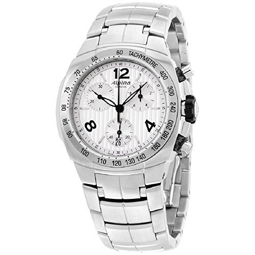 Alpina Avalanche Silver Dial Stainless Steel Ladies Watch AL350LSSS2A6B