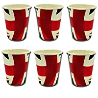 Union Jack Paper Cups - Pack Of 20