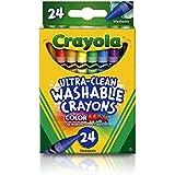 Giz de Cera Lavável, Crayola 18, Multicor, Pacote de 24