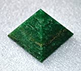 "AAA Grade Green Jade Pyramid Size Approx. 1.5-2""- Healing GemStone Reiki Crystal - Blessed & Energized Chakra crystal Balancer generator Reiki Healing Pyramid - A high quality product from a US Seller"