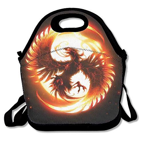 Magic Bird Phoenix Extra Large Insulated Lunch Box Food Handbag