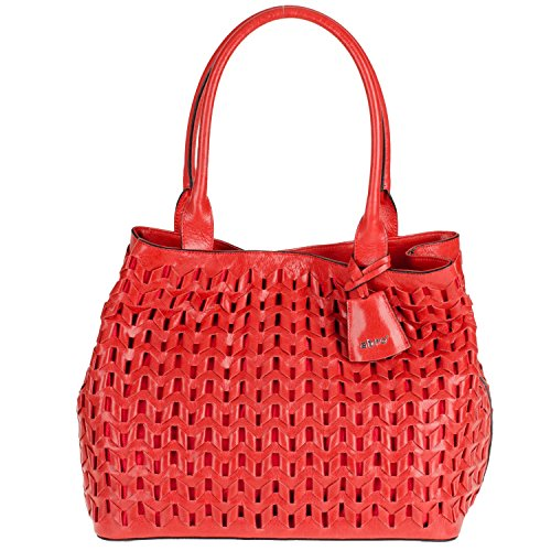 Footlocker Venta Barata Abro Woven Double Handle Handbag Red Comprar Barato Popular Clásico Barato Clásico Sitios Web Baratas Y97i6GKlb7