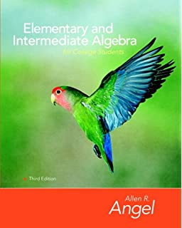 algebra for college students 3rd edition allen r angel