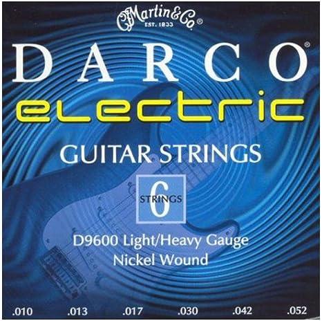 Darco D9600 - Juego de cuerdas para guitarra eléctrica de níquel.010-0.052: Amazon.es: Instrumentos musicales