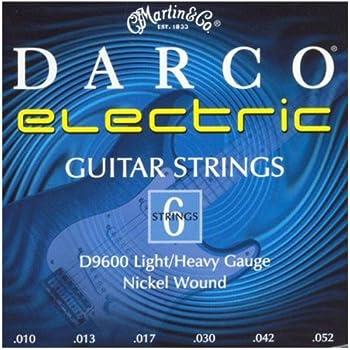 Darco D9600 Nickel Plated Electric Guitar Strings, Custom