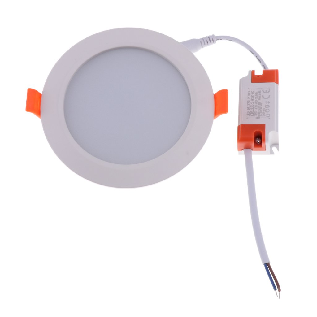 B Blesiya Energy Saving LED Downlight Ceiling Light Recessed Dimmable Panel Lights - 3.5 inch 9W