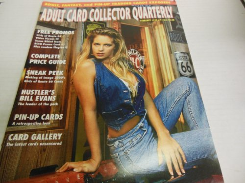 Adult Card Collector Quarterly Men's Magazine February 1995