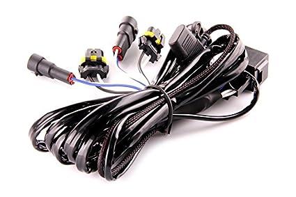 Amazon.com: DDM Tuning Heavy Duty Single Relay HID Harness ... on clear alternatives wiring diagram, hot grips wiring diagram, nitrous express wiring diagram,