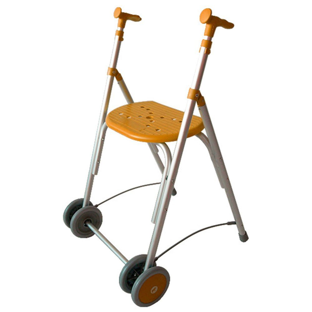 Andador Rollator | De aluminio | Plegable | Regulable en altura | Color esmeralda