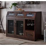 Furniture of America Dalton Transitional Buffet in Vintage Walnut