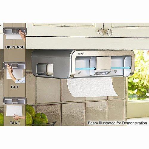Clean Cut Touchless Paper Towel Dispenser, Black by Cleancut