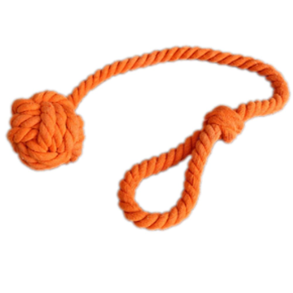 Trycooling A Pair of Hand Knitting Curtain Rope Cord Rural Cotton Tiebacks with Single Ball Navy Blue