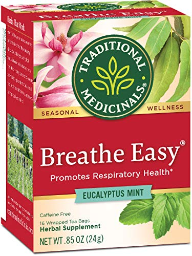 Traditional Medicinals Organic Seasonal Care Variety Pack Teas, 16 Tea Bags (Pack of 6)