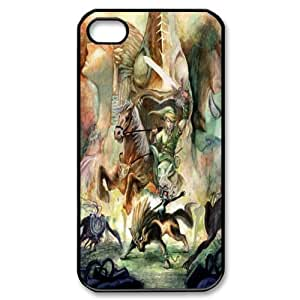 Lennie P. Dallas's Shop New Style 8223062M76389688 Game Series Drm-5 The legend of zelda Print Black Case With Hard Shell Cover for Apple iPhone 4/4S