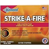 Diamond 'Strike a Fire' Fire Starter Kit, 48 count/box - 2 box package.