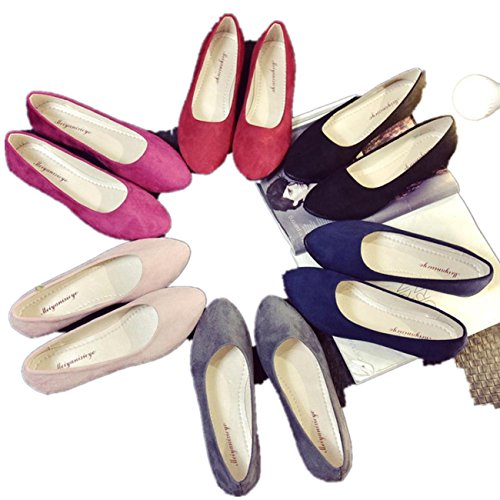 BeautyVan—— Ladies Slip On Flat Shoes Sandals Casual Ballerina Shoes Size Candy...