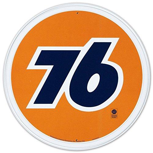 Nostalgic Oil & Gas Tin Metal Sign : Union 76 Gasoline