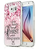S7 Case Bible Verse Protective - Topgraph [Soft TPU Slim Fit Protective Case] Compatible for Samsung Galaxy S7 Christian Jesus Clear Soft TPU