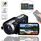 Best Camcorder For Huntings - Camcorder Digital Camera with IR Night Vision HD Review