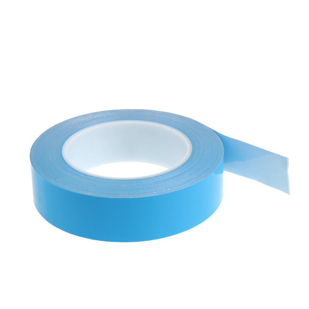 Baoblaze Cooling Tape Strong Adhesive Conductive Thermal Tape Double Sided 30mm for CPU GPU High Power LED Chip Set