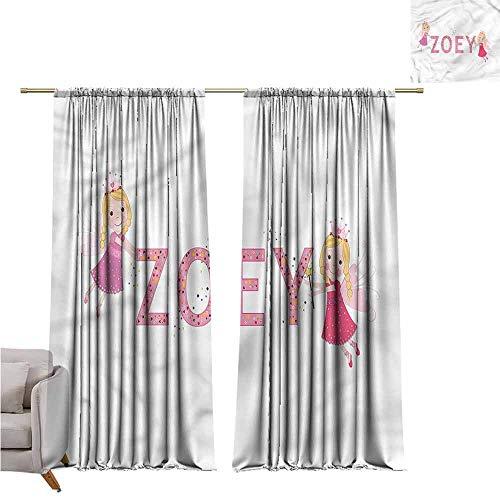 zojihouse Zoey Fashion Room Darkening Window Curtains 62