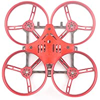 Shaluoman Toad 88 90mm Mini Brushless FPV Multirotor Racing Drone Frame Kit Red