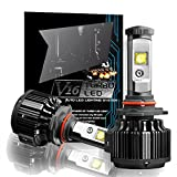 CougarMotor H11 (H8, H9) 60W LED Headlight Bulbs All-in-One Conversion Kit,7200 Lumen (6000K Cool White)
