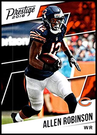 new style 36c7c 4d489 Amazon.com: 2018 Prestige NFL #58 Allen Robinson Chicago ...