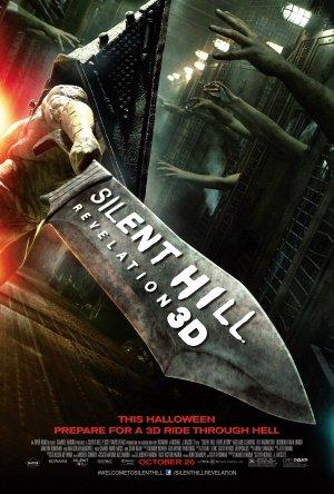 Silent Hill Revelation 3D Movie Poster - Flyer