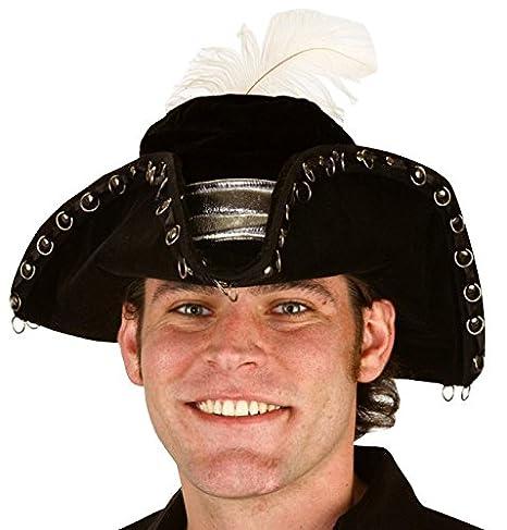 Amazon.com  Jacobson Hat Company Men s Large Velvet Pirate with ... 69d16d9fc3d2