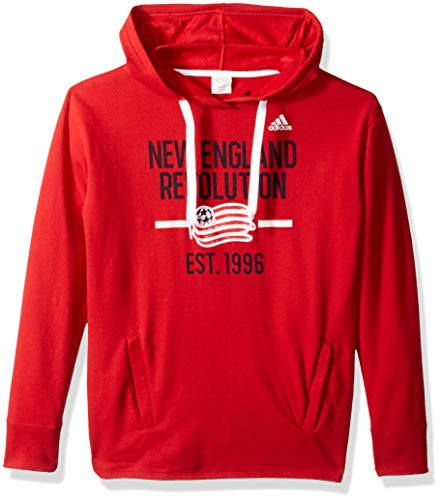 adidas Adult Women Simply Put Fleece Hood, Power Red, X-Large