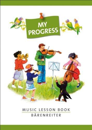 Progress Music - My Progress - Music Lesson Book - by Barenreiter