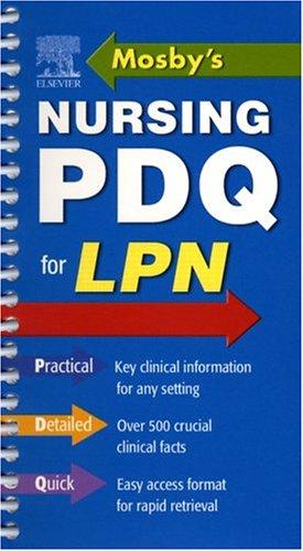 Mosby's Nursing PDQ for LPN
