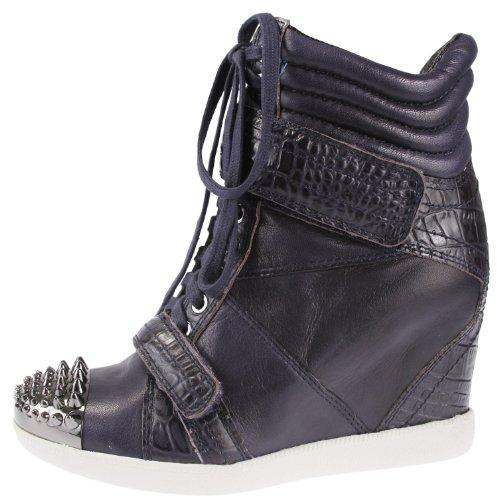 Nevan 9 Bleu Femme Wedge Marine Sneaker Boutique P5qwaq