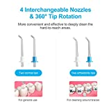 Electric Dental Water Flosser - Cordless Portable
