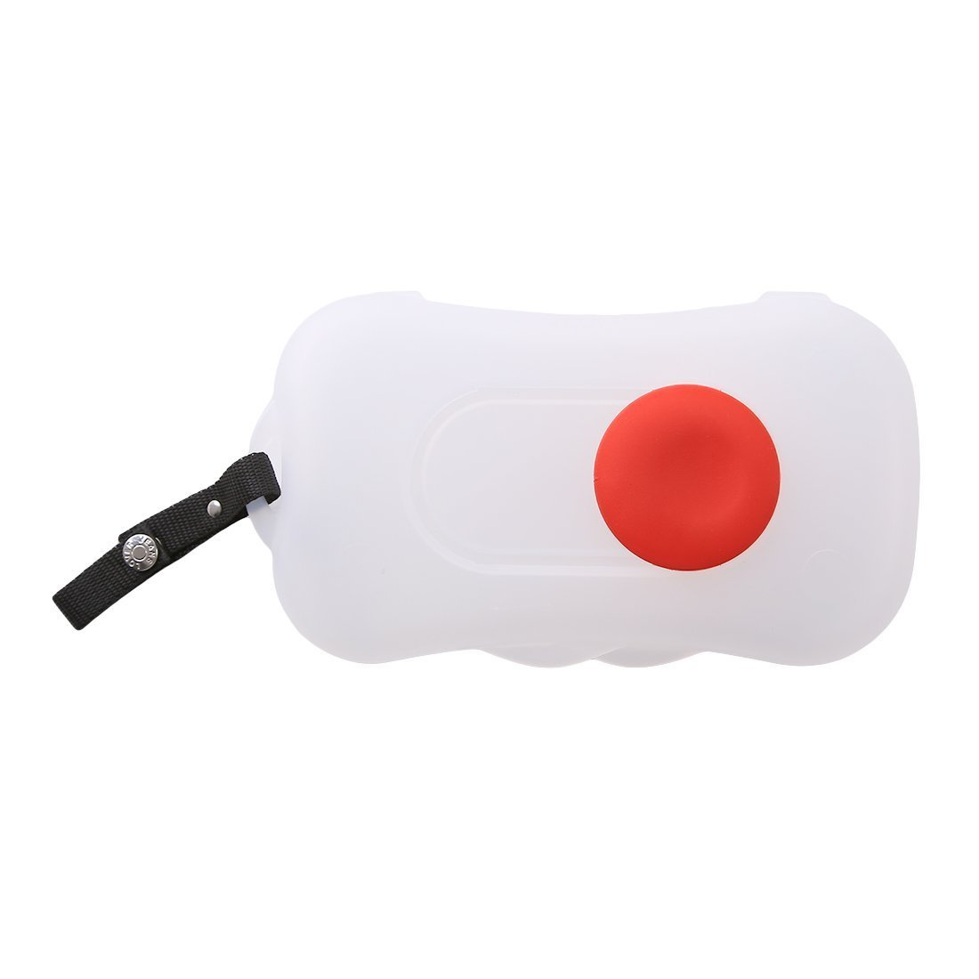Portable Wet Tissue Case Travel Wipes Dispenser Wet Wipes Box for Baby Kid Toddler (White-Red) FAVOLOOK UK20180126007