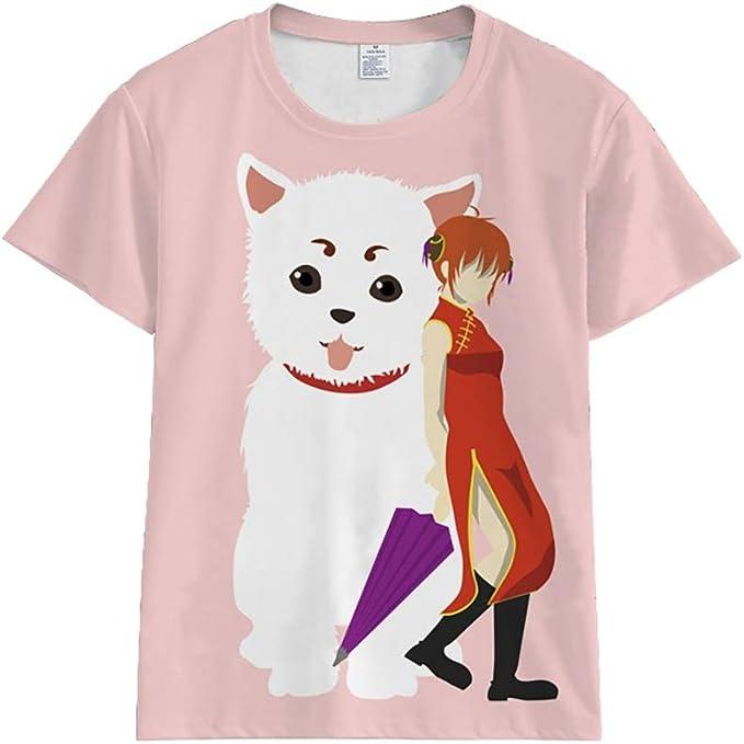 Gintama Sakata Gintoki Kagura - Camiseta de manga corta 1 M ...